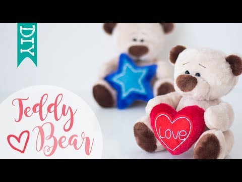 🐻 Teddy Bear DIY | how to make a stuffed bear | cute plushies DIY