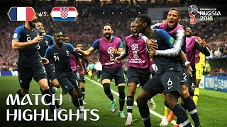 Video France v Croatia - 2018 FIFA World Cup™ FINAL - HIGHLIGHTS MP3, 3GP, MP4, WEBM, AVI, FLV Juli 2018
