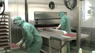 Automatic Loading & Unloading of a Pharmaceutical Freeze Dryer