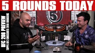 UFC 206: Cormier vs. Johnson 2 Preview, Topps UFC Knockouts 2016 Unboxing on 5 Rounds Today by Fight Network