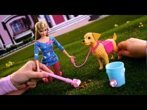 Набор Barbie с собачкой Уход за любимцами