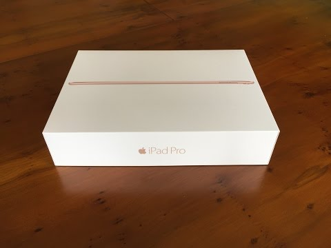 Unboxing: iPad Pro 9.7