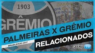 Confira os relacionados do Tricolor para a partida contra o Palmeiras, no Pacaembu em São Paulo. O jogo é válido pela 11ª rodada do Campeonato Brasileiro 201...