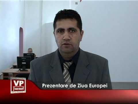 Prezentare de Ziua Europei