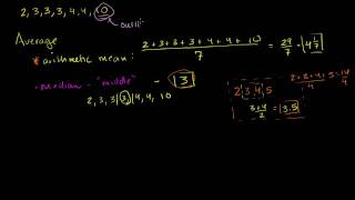Average Or Central Tendency: Arithmetic Mean, Median, And Mode