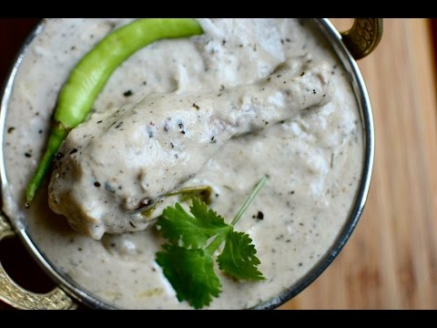 Malai Chicken Recipe | Creamy White Chicken Gravy Recipe