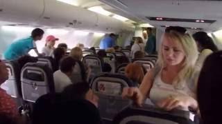 Дебош на рейсе в Тунис: новый ракурс