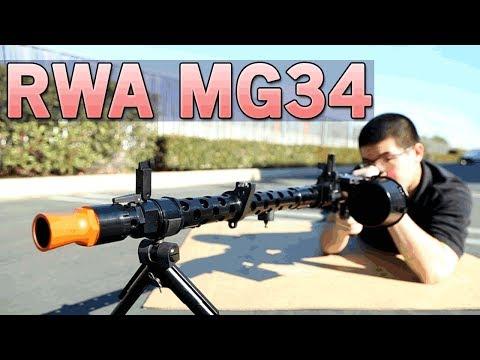 RWA MG34 - Amazing Replica the WWII Machine Gun - Get for Collectors | Airsoft GI