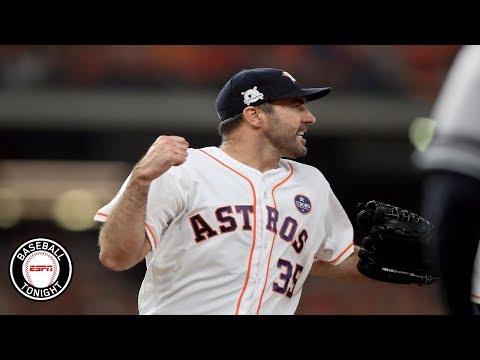 Justin Verlander's outing kept the Yankees batters guessing l BBTN l ESPN