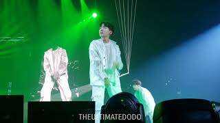 180905 Outro: Tear @ BTS 방탄소년단 Love Yourself Tour in LA Fancam 직캠