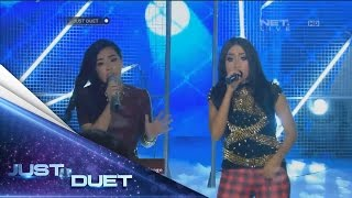 Look at them! Desta & Kamasean sings Berawal Dari Tatap by Yura Yunita! - Live Duet 05 - Just Duet Video
