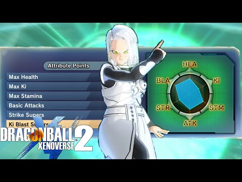 FAR TOO MUCH DAMAGE! Strongest Hybrid Female Earthling Build | Dragon Ball Xenoverse 2 (видео)