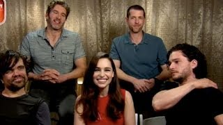Game of Thrones Cast talks about Season 4