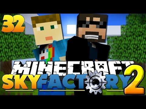 Minecraft SkyFactory 2 -  TWO ACHIEVEMENT CHALLENGE!! [32]