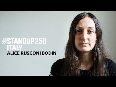 #standup250 Italy - Alice Rusconi Bodin