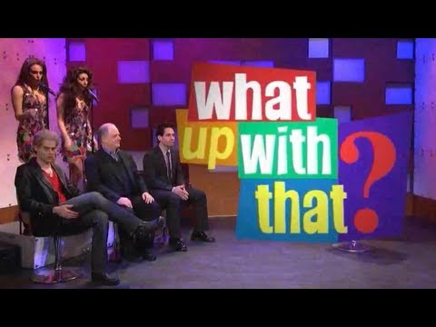 snl - Saturday Night Live skit entitled What Up With That. With Kenan Thompson, Paul Rudd, Bill Hader, Zach Galifianakis, Frank Rich, and Jason Sudeikis Ooooooowee...
