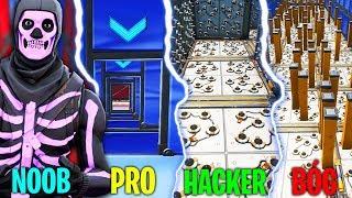 """Video 🔥 """"NOOB vs PRO vs HACKER vs BÓG"""" DEATHRUN w Fortnite! MP3, 3GP, MP4, WEBM, AVI, FLV September 2019"""