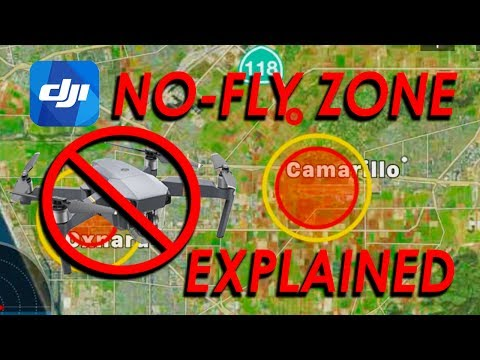 DJI No Fly Zone EXPLAINED - Mavic Pro / Platinum / Air / Phantom / Spark