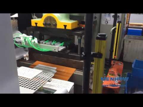 Membrane Switch Production Process Auto Punching
