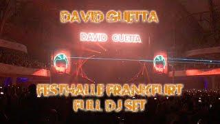 David Guetta live Festhalle Frankfurt - Komplettes DJ Set