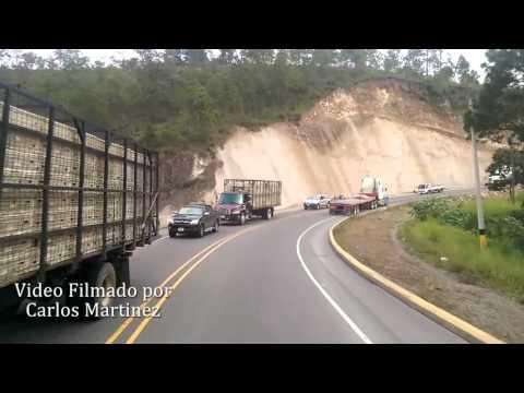 CARRETERA DE SAN PEDRO SULA HACIA COMAYAGUA HOY 17 DE OCTUBRE 2015