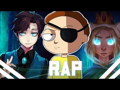 🔴Rap dos Bad End Friends   Dipper Gleeful - Evil Morty - Ice Finn   VMZ (видео)