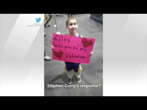 Hidden Gems (Video): Steph Curry Meets Riley Curry's Secret Admirer