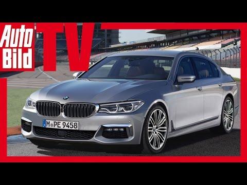 Zukunftsaussicht: BMW 5er (2017) - Exklusive Eindrücke und erste Enthüllungen nur be… видео