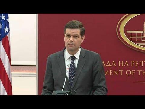 Σκόπια: Συνάντηση του Υφ. Εξωτερικών των ΗΠΑ με τον Ζόραν Ζάεφ
