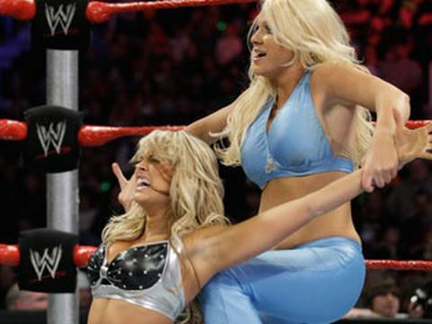 WWE Superstars: Kelly Kelly vs. Jillian