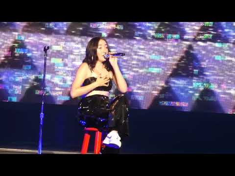 """Millions Reasons & Stand By Me (Dedicated Vegas Tragedy)"" Noah Cyrus@New York 10/2/17"