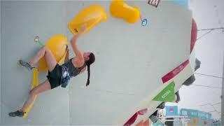 Munich Female Boulder World Cup Qualification by Five Ten