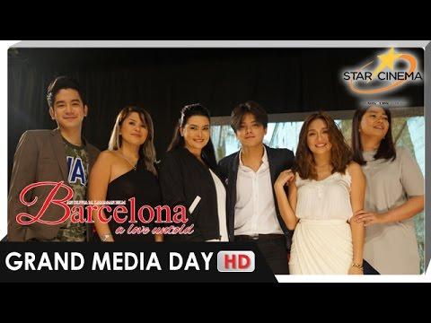 'Barcelona' cast, pigang-piga kay Direk Olive | Grand Media Day