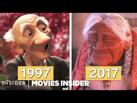 How Pixar Animates Human Characters | Movies Insider