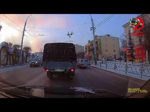 ул. Аэровокзальная 16.11.2017 А618ЕУ124 - DomaVideo.Ru