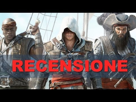 Assassin's Creed IV: Black Flag - Video Recensione HD ITA Spaziogames.it