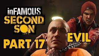 inFamous: Second Son Evil Walkthrough Part 17 - Kill Hank - Evil&Expert Playthrough