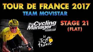 In this Pro Cycling Manager 2017 Let's Play we're playing the Tour de France 2017 with Team Movistar, trying to win the tour overall with Nairo Quintana and Alejandro Valverde as the main stars of the team. For every stage there will be one video, released about one day before the stage will conclude in real life.PCM 2017 Let's Play: https://youtu.be/4l0tzp01BqkCycling Explained for Gamers: https://youtu.be/qHpnKMAyVvw