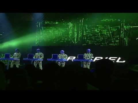 Kraftwerk - Aero Dynamik On MTV (live) [HD]