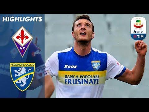 Fiorentina 0-1 Frosinone | Late Goal From Ciofani Earns Frosinone Win! | Serie A - Thời lượng: 4 phút, 15 giây.