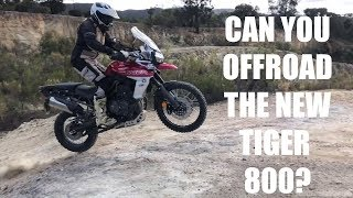 7. CAN YOU OFFROAD THE NEW TRIUMPH TIGER 800 XCA!?
