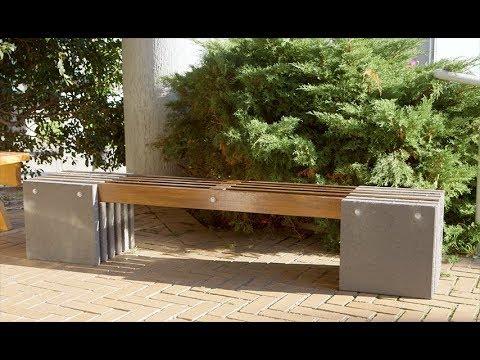 DIY Paver Hardwood Bench | The Home Team S5 E9