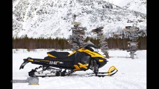 9. Powerful snowmobiles review SkiDoo MXZ Renegade Backcountry