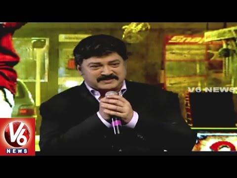 Actor Suresh Speech | Janatha Garage Movie Success Meet | V6 News