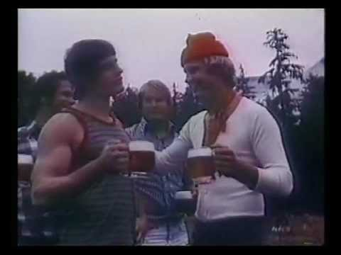 Old Milwaukee Beer Commercial – Log Rolling