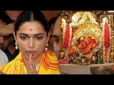 Deepika Padukone PRAYS For Padmaavat Success at Si