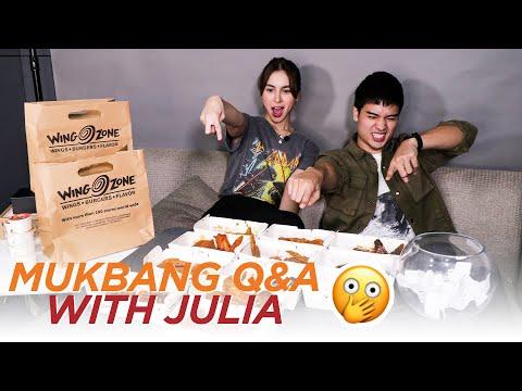 Mukbang Q&A with Julia Barretto // Marco Gumabao