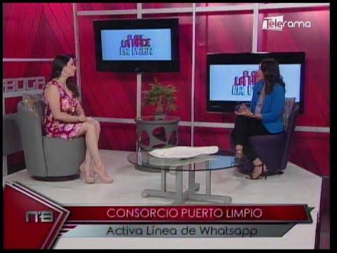"""Consorcio Puerto Limpio presenta campaña """"El que la hace, la paga"""""""