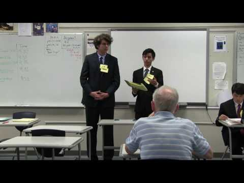 2017 Hawaii State Forensics Championships: Policy Debate - 3rd vs 4th (April 8, 2017)