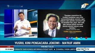 Video Karena Ini Yusril Bersedia Jadi Pengacara Jokowi-Ma'ruf MP3, 3GP, MP4, WEBM, AVI, FLV November 2018